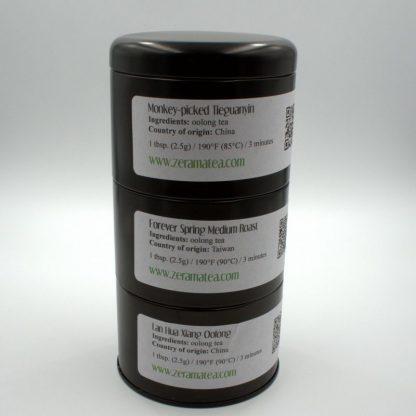 Oolong Favorites Sampler view of packaging