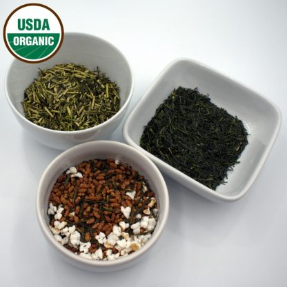 Organic Japanese Sampler leaves