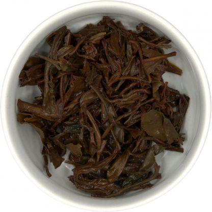 Oriental Beauty Bai Hao brewed leaf