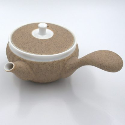 Tea Set with Canister tea pot front view
