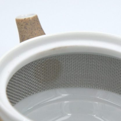 Tea Set with Canister infuser detail view