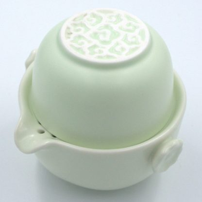 Tea For One Set cup nested in pot