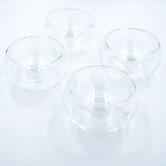 Glass Cups set of four