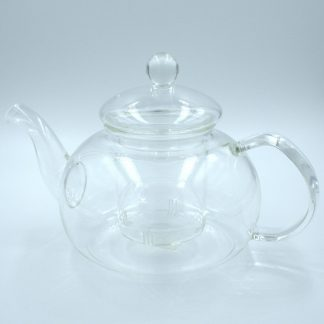 Glass Tea Pot side view