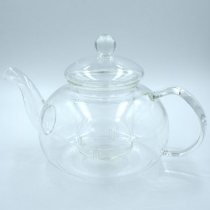 Glass Tea Pot side view