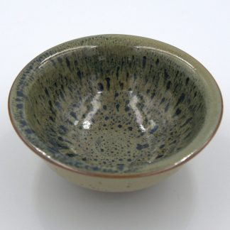 Green Glazed Yixing Cups view of cup interior