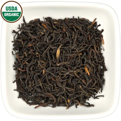 Organic Colombian Wiry Black dry leaf view
