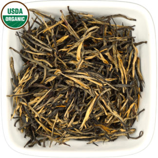 Organic Yunnan Golden Needle dry leaf view