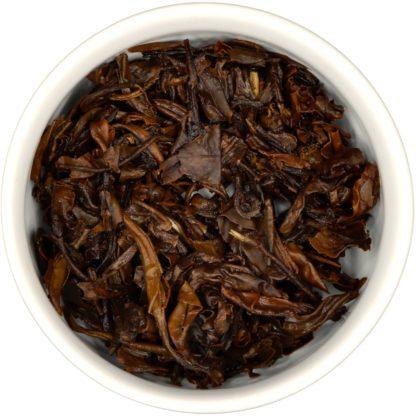 2017 Aged White Tea wet leaf view