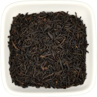 Lapsang Souchong dry leaf view