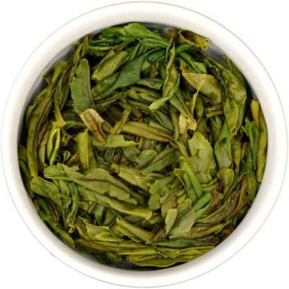 Liu An Gua Pian wet leaf view