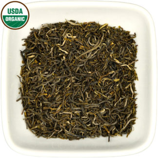 Organic Colombian Green Needles dry leaf view