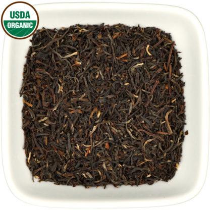 Organic Kumaon Black dry leaf view