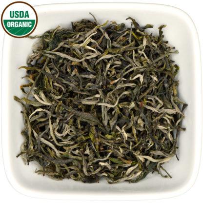 Organic Yunnan Green dry leaf view