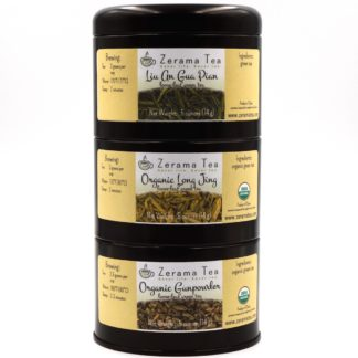 Chinese Green Tea Sampler package view